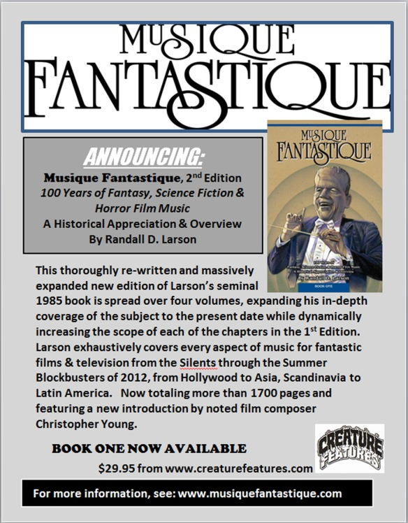 Musique Fantastique | 100 years of Fantasy, Science Fiction