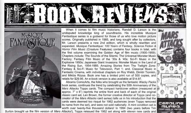 Review published in SCREEM magazine #25, Nov 2012