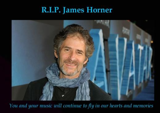 RIP James Horner FB