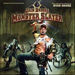 JACK BROOKS MONSTER SLAYER Soundtrack album, Moviescore Media
