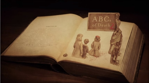 ABCs of Death 2 main title end screengrab
