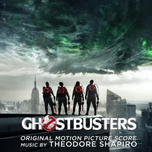 GHOSTBUSTERS score album, Sony Classical, CD and digital download.