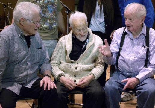 A Legendary Trio. Dave Grusin, Gerald Fried, Tommy Morgan discuss the UNBELIEVABLE!!!!! score for a planned DVD bonus feature.