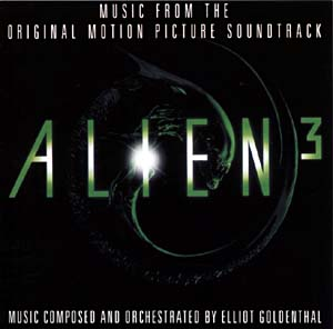 Alien3 soundtrack, MCA Records, 1992.
