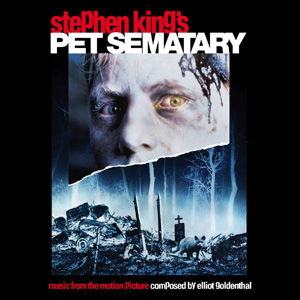Pet Sematary expanded soundtrack, La-La Land Records,2013.