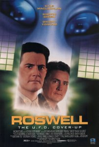 ROSWELL movie poster, 1994.