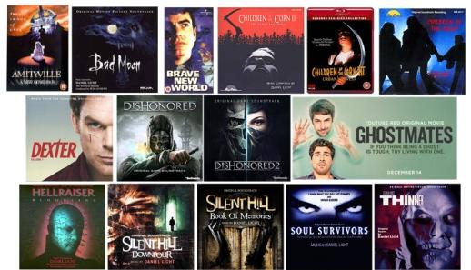 Daniel Licht genre film scores