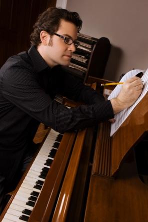 ryan_shore composing at piano