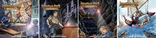 Jonathan Park albums (samples)