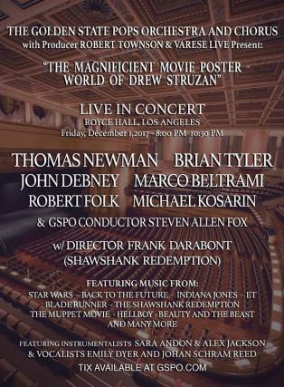 Art Drew Struzan concert