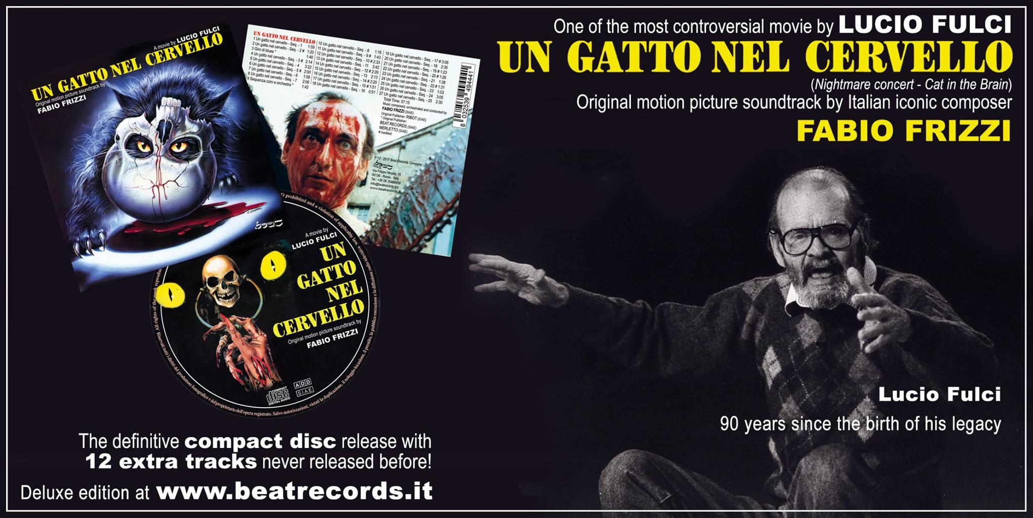 Beat Records Fulci release 2017