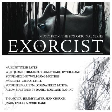 Exorcist TV music promo page