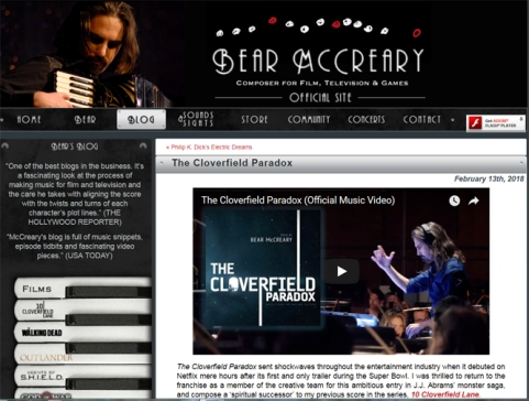 McCreary blog screen grab