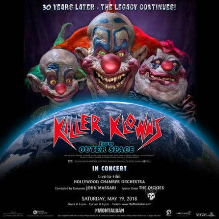 Killer Klowns concert news