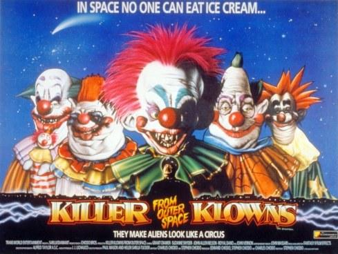 KILLER KLOWNS poster horiz