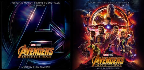 Avengers Infinity war dig + CD covers