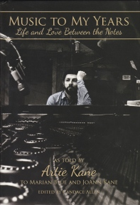 _Artie Kane - Music To My Years book cover.jpg