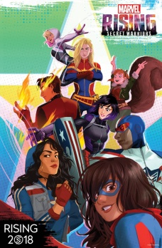 _Marvel_Rising_Secret_Warriors teaser poster