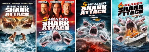 multi-headed shark attack movies