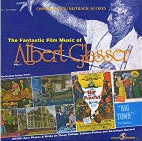 Starlog LP Fantastic Film Music Albert Glasser - a