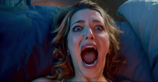 Jessica Rothe Screams in Happy Death Day2