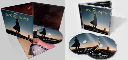 Doctor who S11 OST digipak & jewel case