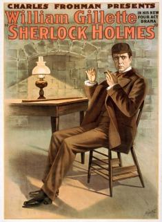 1916 sherlock holmes poster