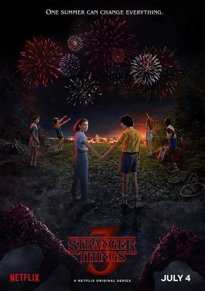Stranger Things S3 poster