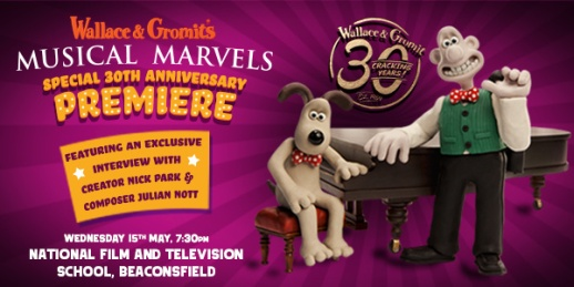 Wallace & Gromit Musica concert wide