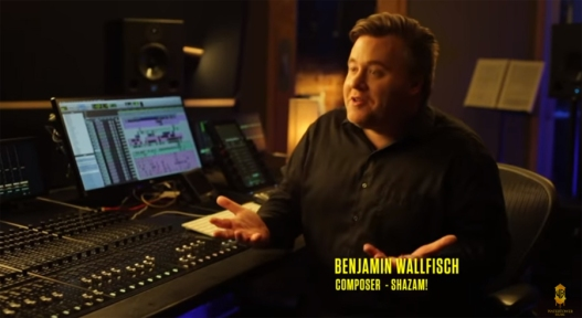Benjamin Wallfisch SHAZAM score vid