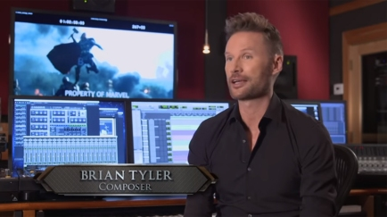 Brian Tyler making THOR DARK WORLD