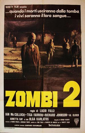 Zombi 2 Italian poster