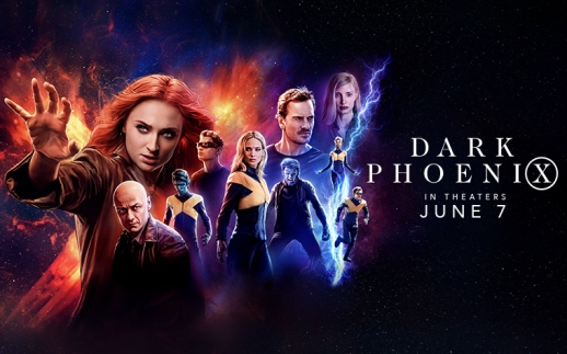 Dark Phoenix wide poster