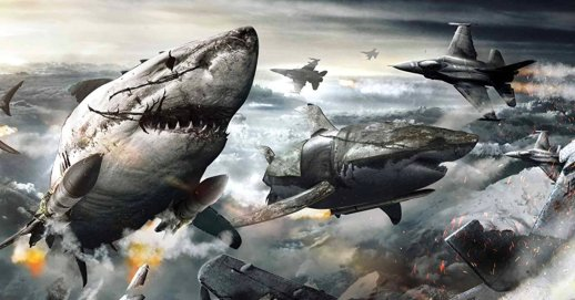 SKY SHARKS image from dread central