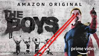 The Boys Amazon Prime banner