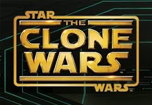 animated CLONE WARS logo