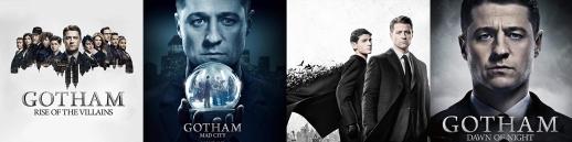 GOTHAM S2-3-4-5 albums